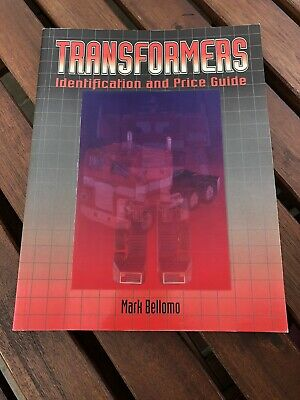 Transformers Identification And Price Guide Book mark Bellomo Krause Publ.