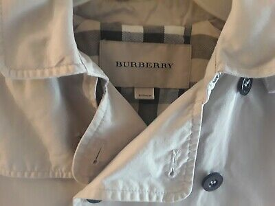 Girls Burberry summer rain coat age 3