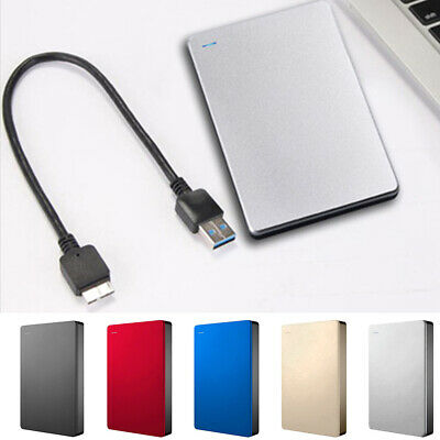 USB 3.0 500GB 1TB 2TB External Hard Drive Disk HDD 2.5'' For PC Laptop Portable