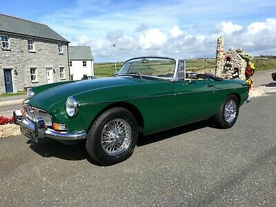 1972 MGB Roadster 1800cc With Overdrive *FULLY RESTORED*