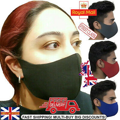 Face Mask Reusable 4 Colours Washable Protection Breathable cotton ⭐WHOLESALE⭐