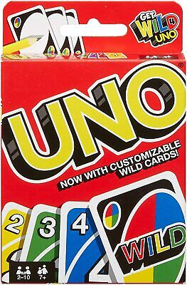 UNO Card Game 112 CARDS Great Family Fun Party game UK Seller FAST & FREE