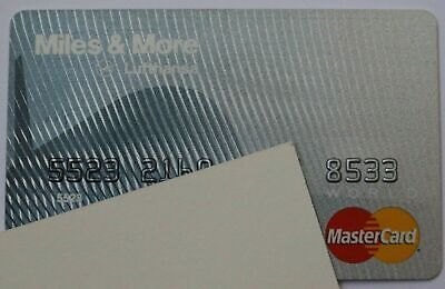 Expired Barclays Bank Lufthansa World Master Card Credit Card USA