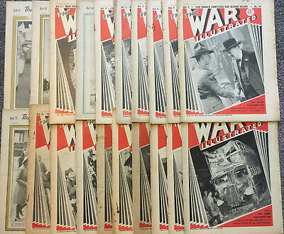 Job Lot Of 20 Issues Of The War Illustrated magazine, Classic WW2 Reading