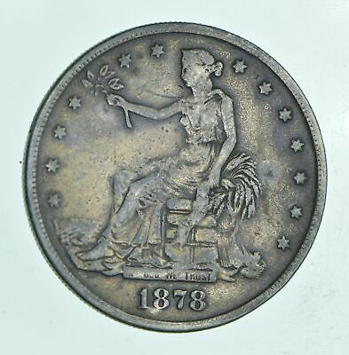 1878 Seated Liberty PROOF Silver Trade Dollar - LOW SHIPPING!!