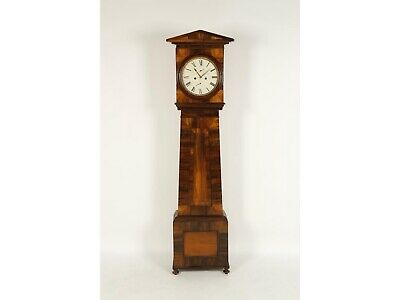 19 Century rare rosewood Scottish longcase grandfather clock