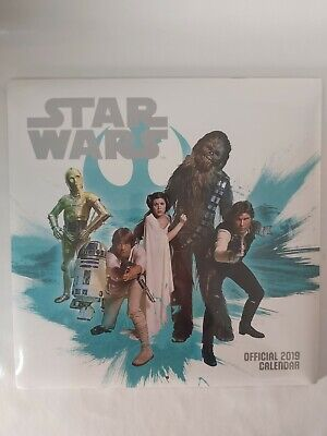 Star Wars Classic Official 2019 Calendar - Square Wall BRAND NEW AND SEALED
