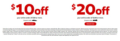 STAPLES $20 OFF $100 and $10 off $50 Online  Expires 05/27/2020