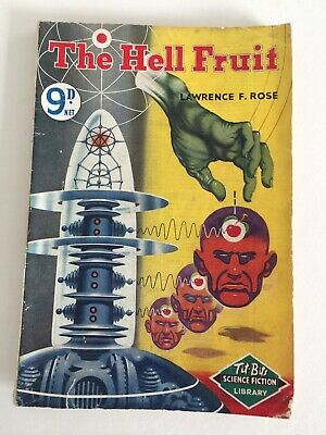 British Science Fiction Paperback. Pseudonym for John Russell Fearn. 1950's.
