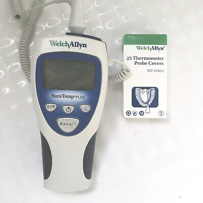 Welch Allyn Sure Temp 692 Oral Thermometer Digital Medical Not Braun Thermoscan