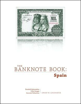 Spain chapter PDF from best catalog of notes, The Banknote Book