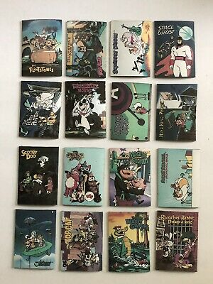 "16 Hanna Barbera 2-1/3"" Magnets Flitstones Jetsons Banana Splits 13 Others"