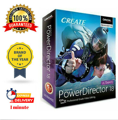 Cyberlink PowerDirector 18✔️Full Version✔️LifeTime✔️Windows✔️100% working 🔥🔥