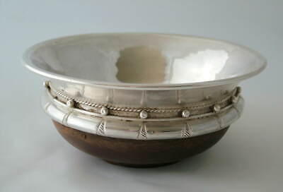 Albert Edward Jones ~ A.e.jones ~ Arts & Crafts Sterling Silver Mazer ~ 1937