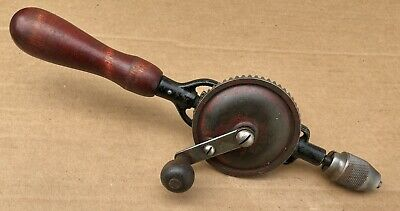 MILLERS FALLS No. 77 Hand Drill 3-Jaw Chuck