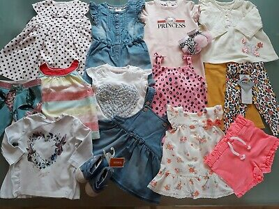 Baby Girls Large Summer Clothes Bundle 0-3 Months Ted Baker River Island Next