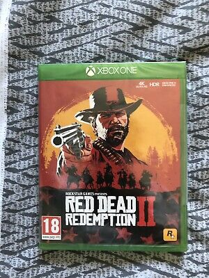 Brand New red dead redemption 2 xbox one game