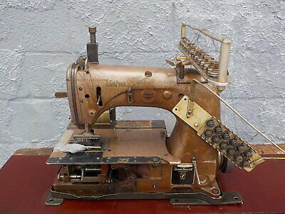 Industrial Sewing Machine Union Special 54-400 H-with rear puller-