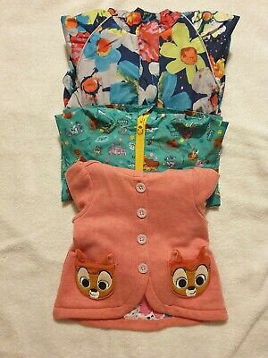 3 girls jackets age 2-3 years, two disney store & one Next. Excellent condition.