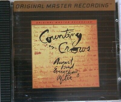 COUNTING CROWS - AUGUST AND EVERYTHING AFTER CD GOLD 24KT MFSL ULTRADISC II n664