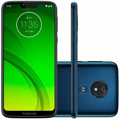 CLEARANCE Motorola Moto G7 Power XT1955 3GB RAM 32GB (Cricket MARINE BLUE A+