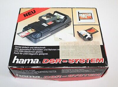 hama DSR-SYSTEM Film/Slide Mounting System NEW Open Box