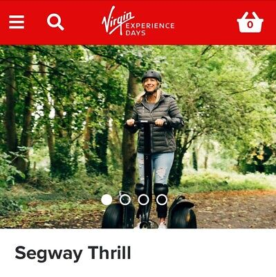 Segway Thrill For Two (expiry September 2020 With Extension) Was £60.00