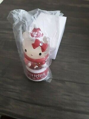 Cute Small Hello Kitty Christmas Lamp - Excellent Condition -Red
