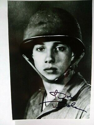 BOB DOLE Authentic Hand Signed Autograph 4X6  Photo - YOUNG WWII ARMY SOLIDIER