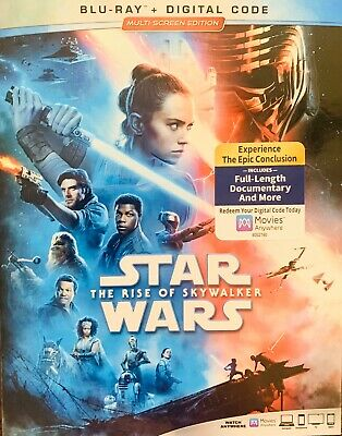 Star Wars The Rise Of Skywalker Blu Ray And Digital