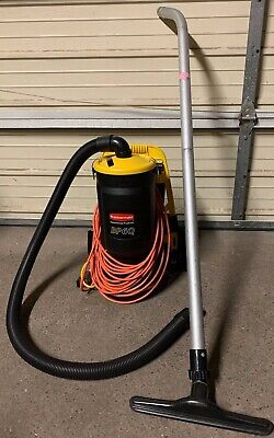 Rubbermaid Model BP6Q Portable Backpack Vacuum Cleaner With Wand + FAST SHIPPING