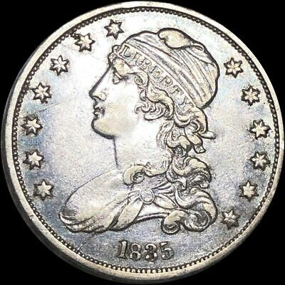 1835 Capped Bust Silver Quarter.   LOW SHIPPING!!
