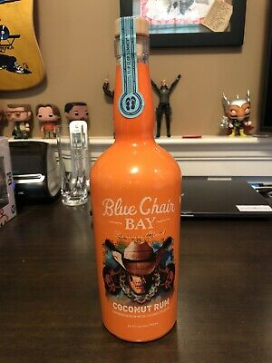 RARE Kenny Chesney Blue Chair Bay Coconut Rum - 2018 Commemorative Bottle!