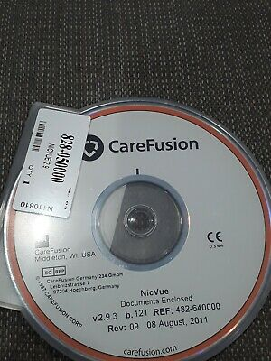 CareFusion NicVue/Nicolet/NicoletOne software
