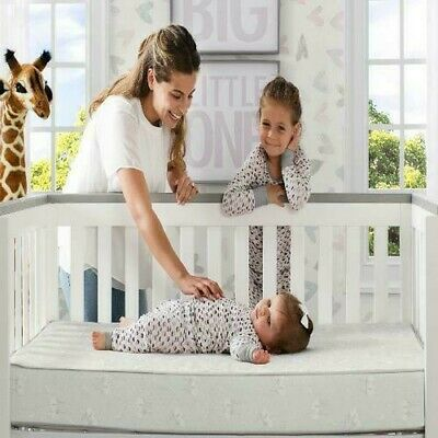 Serta A41117-1115 Sertapedic Moongaze Crib and Toddler Mattress - Beige