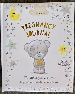 Carte Blanche- Tiny Tatty Teddy Bear- Pregnancy Journal Keepsake Baby Book- BN