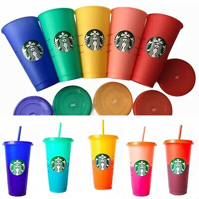 Starbucks 2020 Color Changing Reusuable Cold Cups