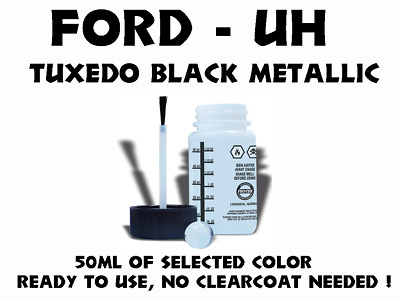 FORD UH Tuxedo Black Metallic, Paint Touchp for F150,F250,Focus ect