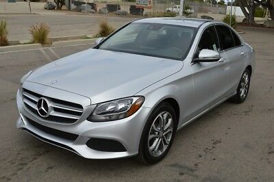 2016 Mercedes-Benz C-Class Luxury 2016 Mercedes C300! Package 1! Navigation! Back-Up Cam! Like NEW! LOW Miles!