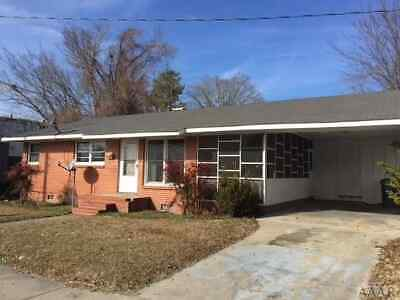 3 bed 2 bath Brick Ranch NO RESERVE This is DOWN PAYMENT ONLY balance financed