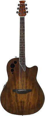 Ovation Applause 6 String Acoustic-Electric Guitar, Right, Vintage Varnish, Mid-