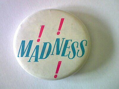 "Original "" Madness ""  Pin Badge 1980'S Ska Two Tone"