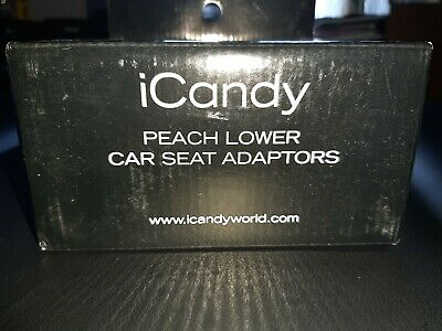 iCandy Peach Lower Car Seat Adaptors BRAND NEW BOXED