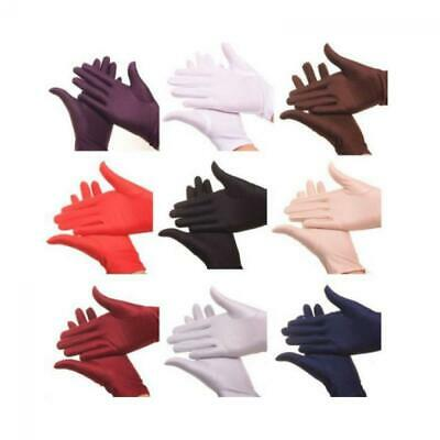 Fashion Lady Evening Party Prom Gloves Wedding wrist Short