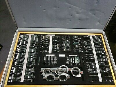 Lombert Instruments TRIAL LENS (207)& 3 trail frame, SET WITH CASE