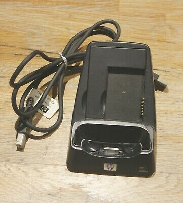 HP PDA Cradle and battery Charger