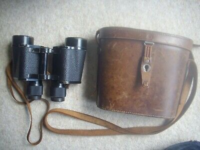 vintage binoculars Carl Zeiss jena 8X40 & original Leather Case
