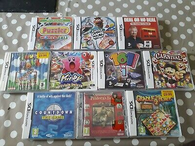 Nintendo Ds And 3ds Games Boxes Job Lot