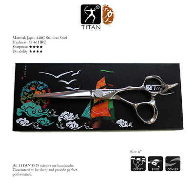 """6"""" Japanese Style Professional Hair Cutting Scissors - Sharp & Smooth"""