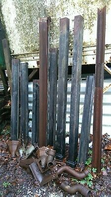 Cast Iron Guttering Assorted Sections